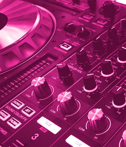 pink dj