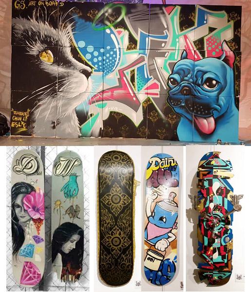 graffiskate